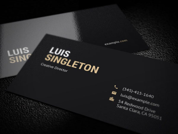 15 free minimalist business card templates for designer this free business card template perfect for any businesspersonalindividual that want for showcase their profile with elegant way wajeb Gallery