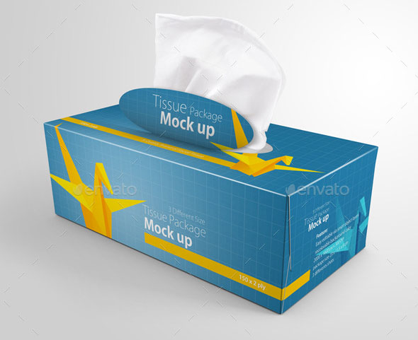 Download 10 Tissue Box Mockup Templates with Editable PSDs ...