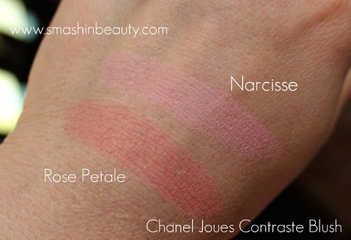 Chanel Joues Contraste Blushes swatches