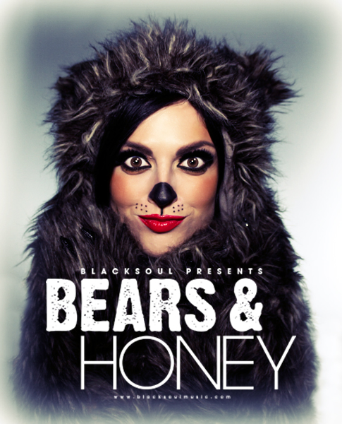 Bears & Honey Grizzle Bear Sexy Bear Makeup Tutorial