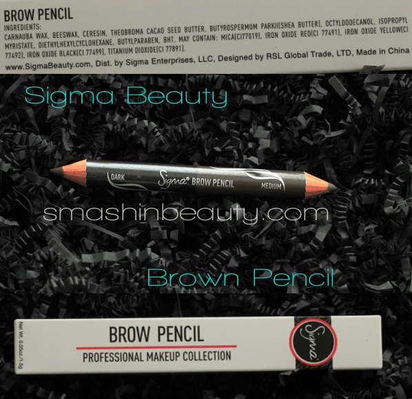 SIgma Beauty BRow Pencil Swatches