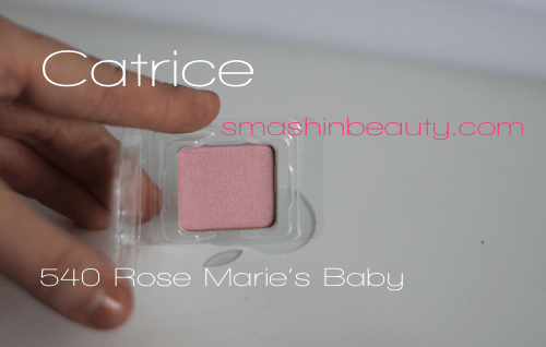 Catrice 540 Rose Marie's Baby Swatches Makeup Review, Recenzija