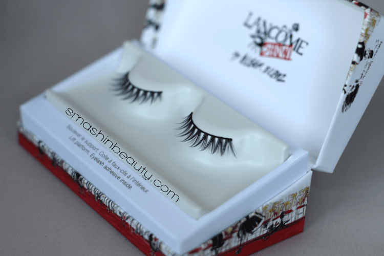 Lancôme Show by Alber Elbaz False Eyelashes smashinbeauty