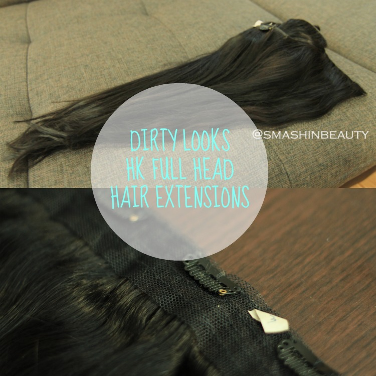 Dirty Looks Hk Full Head Hair Extensions Review Smashinbeauty