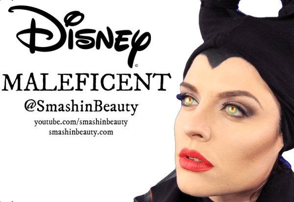 Disney Maleficent Angelina Jolie Makeup Tutorial