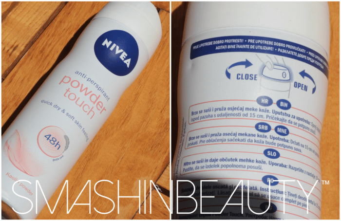 Nivea powder touch 48hr anti-perspirant review