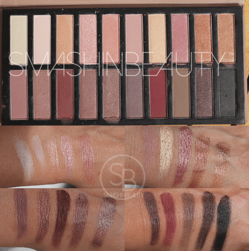 Coastal Scents Revealed 2 Palette Review Swatches