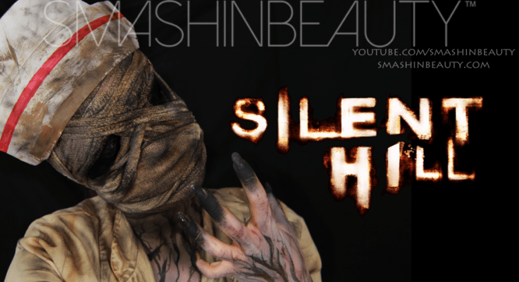 Silent Hill Bubble Head Nurse Halloween SFX Makeup Tutorial