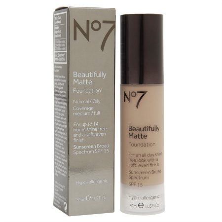 No7 Beautifully Matte Foundation Review Amp Swatches