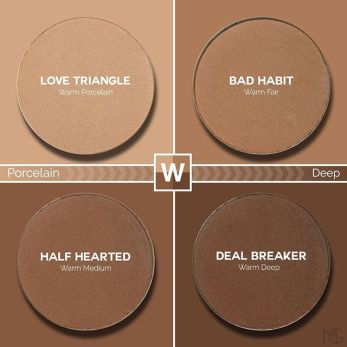 makeup geek love triangle bad habit half hearted deal breaker swatches