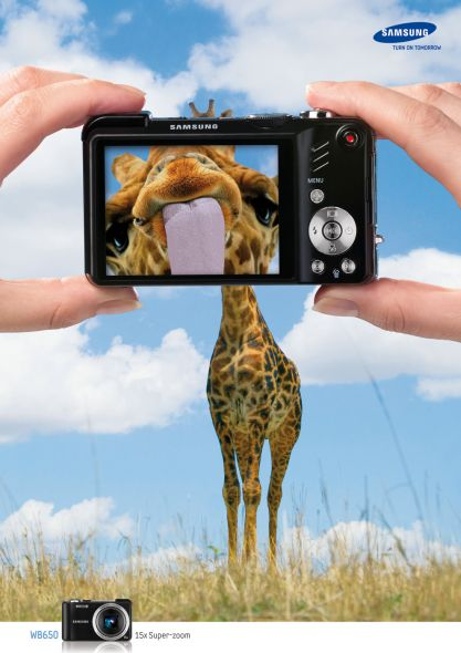 Samsung WB650 Super Zoom 25 Extremely Creative Advertisements That  Makes You Look Twice