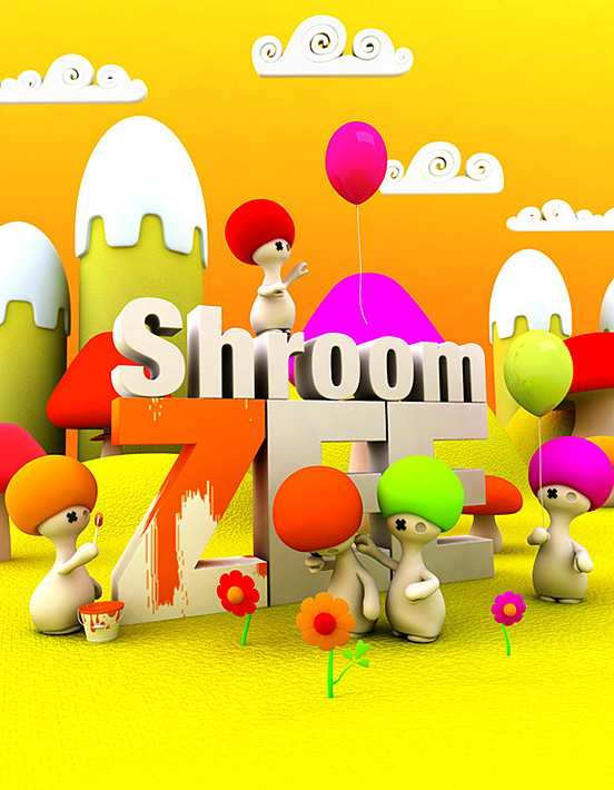 Shroom ZEE l Fantastic Examples of Typography