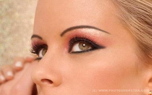 eye makeup 35 Fresh and Useful Photoshop Tutorials