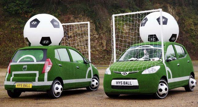 Hyundai i10 Football Cars 0 Hilarious FIFA World Cup Advertising  2010
