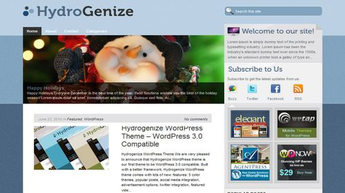 wordpress template 20 Top 20 Most Useful WordPress 3.0 Ready Themes