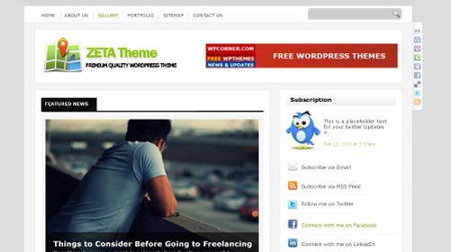 wordpress template 4 Top 20 Most Useful WordPress 3.0 Ready Themes