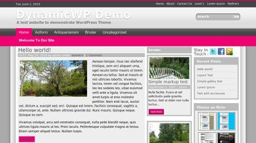 wordpress template 7 Top 20 Most Useful WordPress 3.0 Ready Themes
