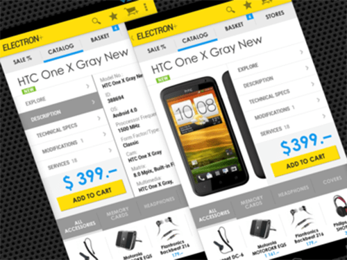 eCommerce Android Mob App