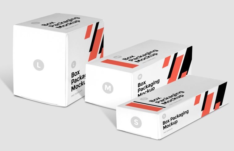 Download Small Box Packaging Mockup - Free Download