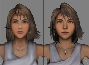 Yuna's makeover in HD