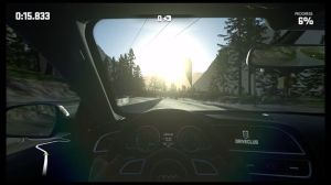 Although DriveClub was initially billed as a strictly first-person racing experience, we should probably be thankful Evolution Studios thought better of it, because the cockpit perspective is not good.