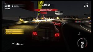 This may be the most frustrating race in the game, having to race a Bentley Continental GT Speed against a pack of lightweight performance cars on a topography-intensive track. Given the weight difference between vehicles, virtually any contact whatsoever will send opposing cars flying, all but guaranteeing collision penalties.