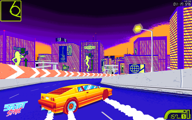 80s color palette, 90s soundtrack, and modern arcade feel. Is it any wonder we're smitten?