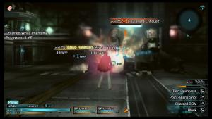 Collecting phantoma from fallen enemies is how you get item drops in Type-0, and the imagery is not accidental.