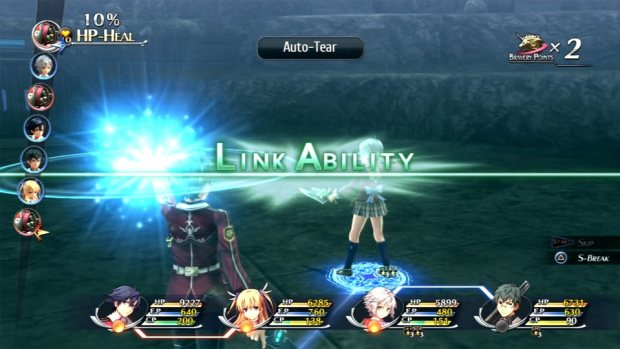 The latest draw in the Trails battle system is the addition of Combat Links, which are pretty much an extra attack or support move.