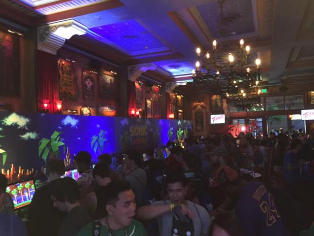 The House of Blues fits can house a bit of people for a party.