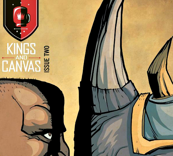 Smash Pages Q&A: Neil Kleid on 'King and Canvas'
