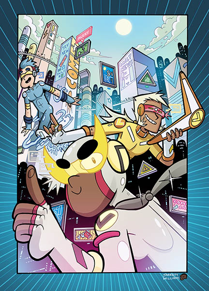 HYPER FORCE NEO_Issue1_Cover