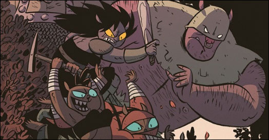 Christine Larsen unleashes the horde in 'Orcs #1'