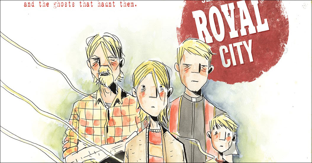 Image to publish Jeff Lemire's 'Royal City'