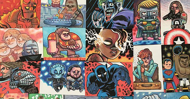 Dan Hipp to release many wonderful illustrations into the wild this week