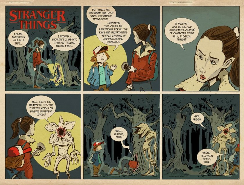 Stranger Things by Sonny Liew