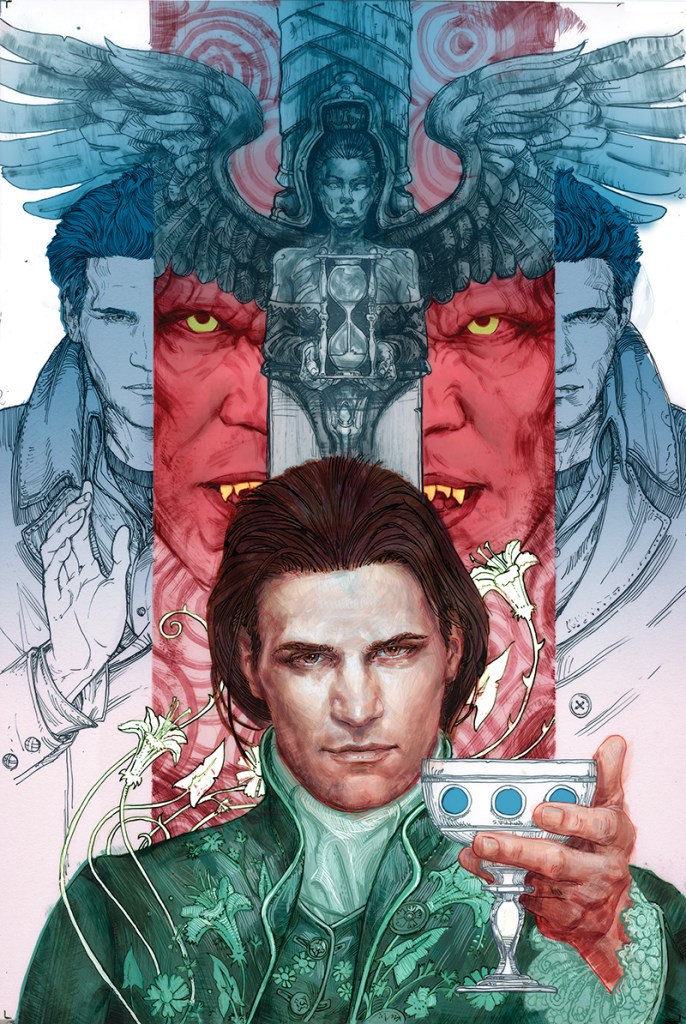 Angel Season 11 #1 cover by Scott Fischer