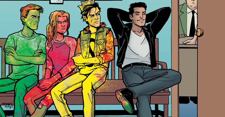 Reggie gets the 'New Riverdale' treatment in December