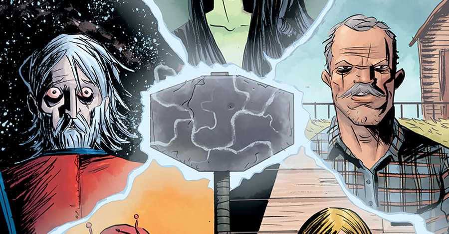 Kindt, Powell, Nguyen and more join Lemire on 'Black Hammer' annual
