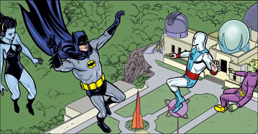 Batman '66 to meet the Legion of Super-Heroes, courtesy of the Allreds