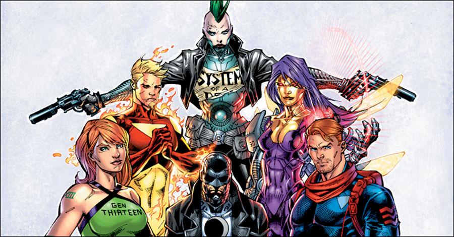 WildStorm celebrates 25 years with hardcover collection