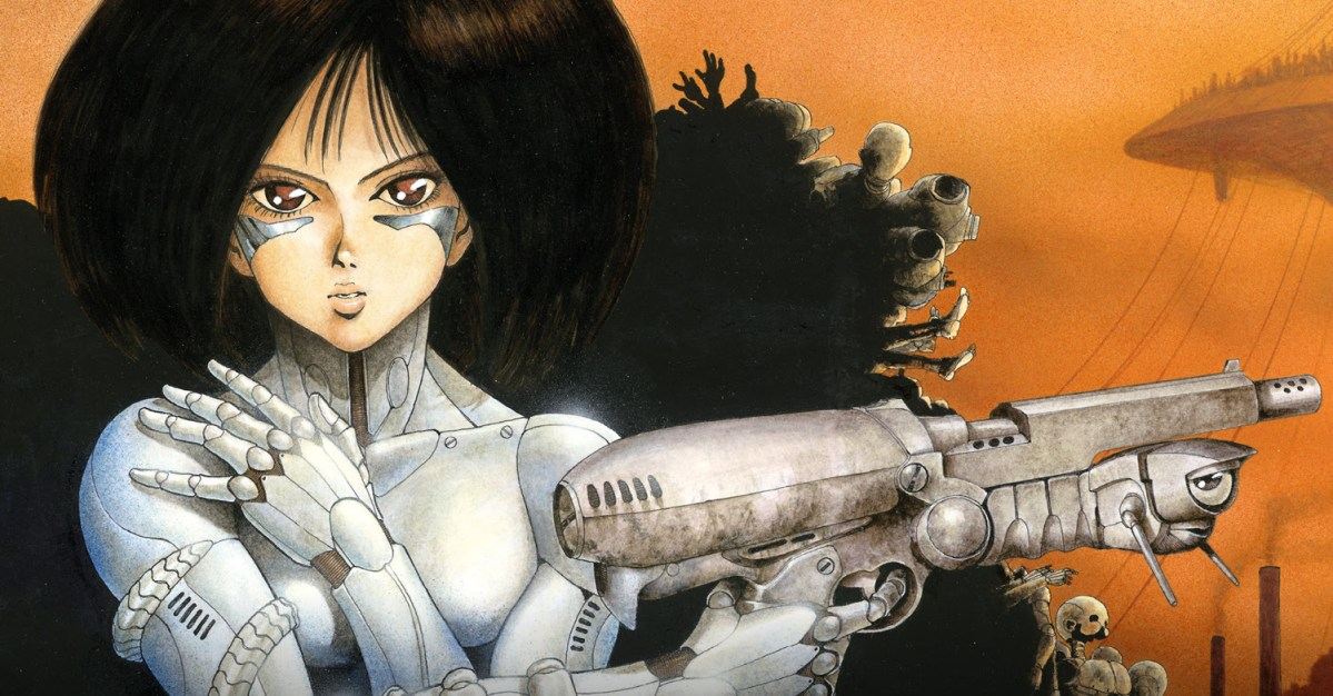 Battle Angel Alita returns in new digital and print graphic novels