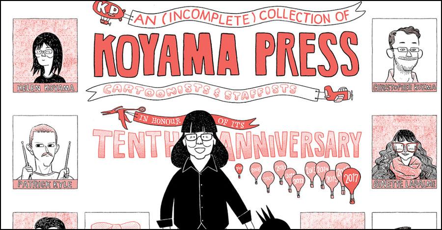 Dustin Harbin covers 10 years of Koyama Press history