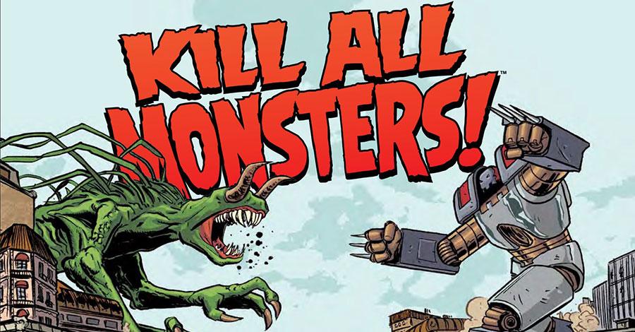 Smash Pages Q&A: May + Copland on 'Kill All Monsters' Omnibus