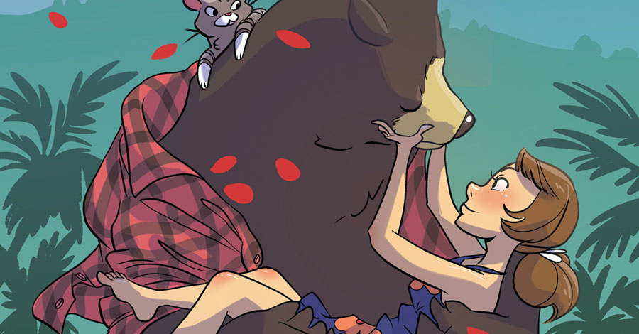 Bear-ing your heart: Oni announces new graphic novel from Ribon & Farris