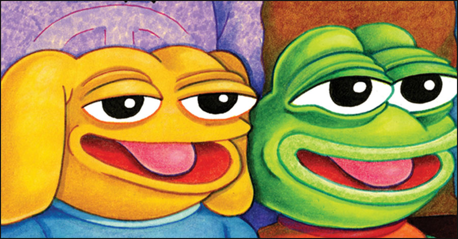 Help 'shine a light in all this darkness' by resurrecting Pepe the Frog