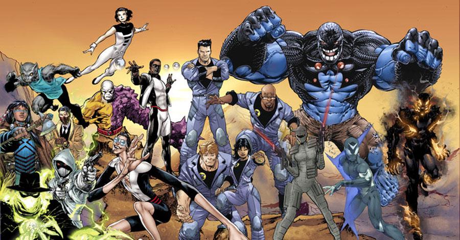 Jeff Lemire returns to DC Comics for 'The Terrifics,' Hawkman