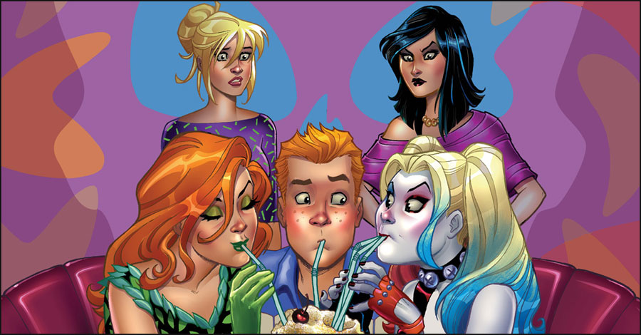 DC & Archie & Harley & Ivy & Betty & Veronica & Dini & Andreyko & Braga