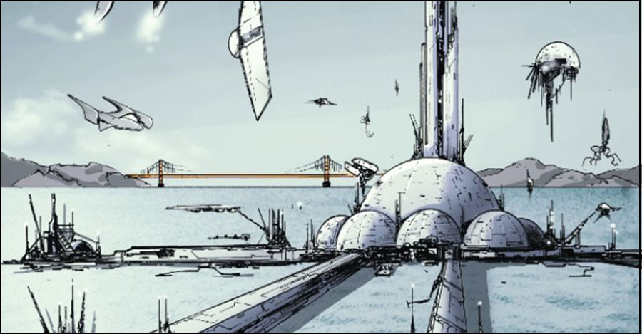 Top Cow announces high-concept 'Port of Earth' from Kaplan and Mutti