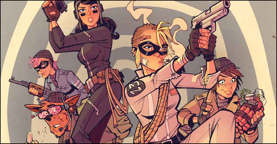 Tank Girl strikes again in new comic from Alan Martin and Brett Parson